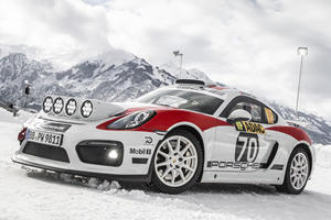 Porsche Transforms 718 Cayman GT4 Into A Rally Car