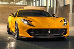 Ferrari 812 Superfast Gets Stunning Carbon Fiber Makeover