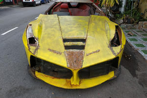 Ferrari LaFerrari Replica Is A Fine Effort