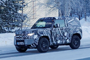 Here's Your First Look At The Two-Door Land Rover Defender 90