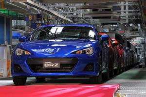 Subaru Production Grinds To A Halt