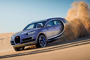 Official: A Bugatti SUV Is Not Happening
