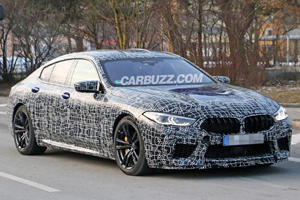 BMW M8 Gran Coupe Looks Sleek In First Spy Shots