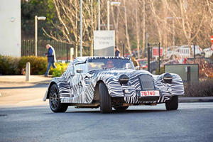 Latest Morgan Sports Car Spotted Looking Properly Retro