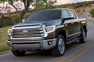 A Toyota Tundra Hybrid Is Coming