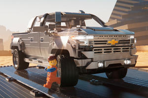 "2019 Chevrolet Silverado To Star In ""The Lego Movie 2: The Second Part"""