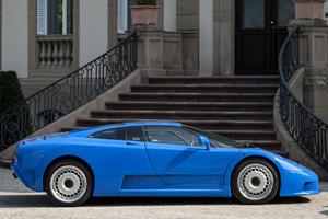 Bugatti EB110's Creator Receives A Hero's Welcome