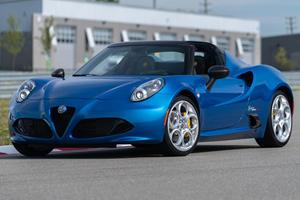 2020 Alfa Romeo 4C Spider Italia Limited To 15 Examples
