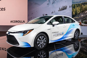2020 Toyota Corolla Hybrid Is The New Prius