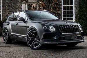 Bentley Bentayga Gets Menacing Makeover