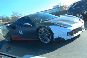 Is This Ferrari's New Hybrid Supercar?