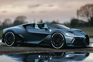Is A Bugatti Divo Speedster Set To Debut?