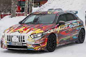 Mercedes-AMG A45 Spied Looking Like The Crazy Hot Hatch That It Is