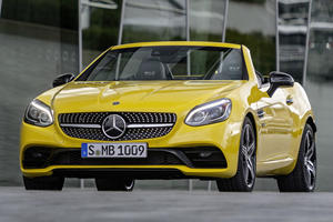Special Final Editions Marks End Of Mercedes-Benz SLC