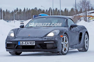 New Porsche 718 Boxster Spied With Flat-Six Engine