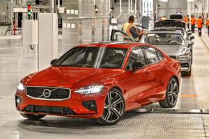 American-Built Volvo S60 Exports Begin