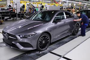 Stunning 2020 Mercedes-Benz CLA Starts Production