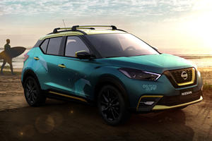 New Nissan Kicks Concept Designed By Surfing Champions