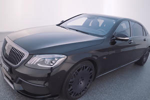 Brabus Builds New 900-HP Maybach S650
