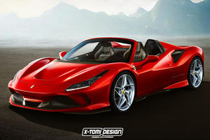 Ferrari F8 Tributo Spider Is Only A Matter Of Time