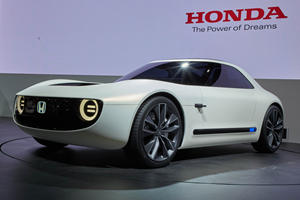 Honda Planning Production-Spec Sports EV