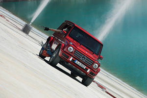 Watch The Mercedes G-Class Traverse A 331-Feet Tall Inclined Wall