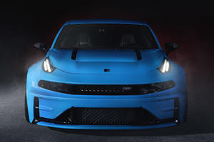 Lynk 03 Cyan Concept Puts Volvo's Racing Team On The Road
