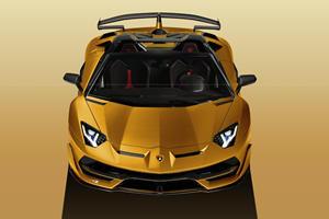 Lamborghini Aventador SVJ Losing Its Top At Geneva