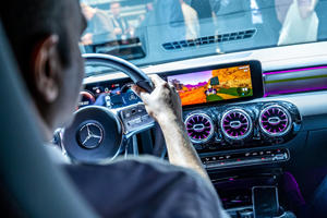 Mercedes Will Let You Play Racing Video Games In Your Car