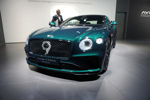 Bentley Celebrates 100 Years With Continental GT Number 9 Edition
