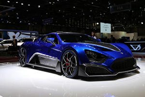 Zenvo Returns With 1,177 Horsepower TSR-S