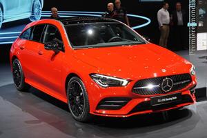 New Mercedes CLA Shooting Brake Offers More Room Inside