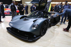 New Aston Martin Valkyrie Prototype Previews 1,160-HP Hypercar