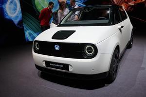 The Adorable Honda E Prototype Looks Almost Production Ready