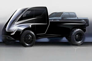 Tesla Pickup Coming Later This Year With Futuristic Design