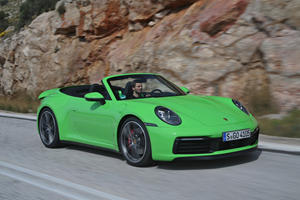 2020 Porsche 911 Carrera Cabriolet First Drive Review: Air Time