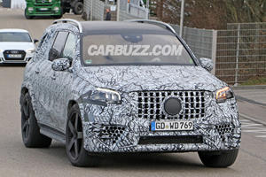Mercedes-AMG GLS 63 Spotted With Long Overdue Refresh