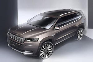 Jeep Will Bring Out Not One, But Two Three-Row SUVs