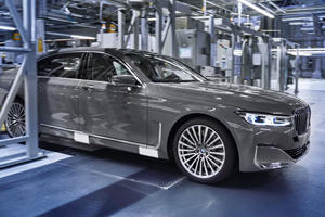 The New BMW 7 Series Starts Rolling Off The Line