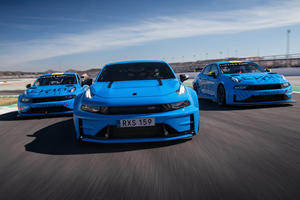 Check Out The 528-HP Lynk 03 Cyan Concept In Action