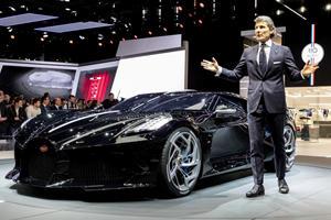 Bugatti Plotting Semi-Affordable EV That's Not A Supercar