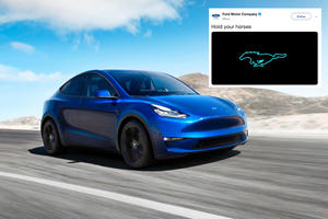 Ford Tried To Upstage Tesla During The Model Y Reveal