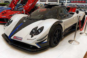 One Of The Prettiest Pagani Zondas Ever Made Is Up For Sale