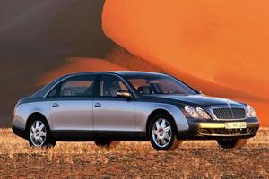 Luxury Car Evolution: 2002 Maybach 57/62