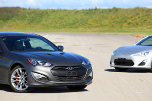 Scion FR-S Goes Head-to-Head with Hyundai Genesis Coupe