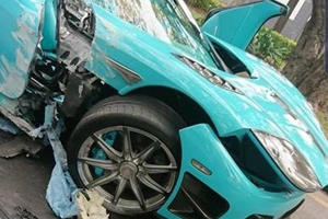 One-Off Koenigsegg CCXR Crashes In Mexico
