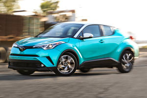 Toyota's Funky C-HR Receives Some Cool Upgrades
