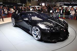 Watch The $18-Million Bugatti La Voiture Noire On The Move