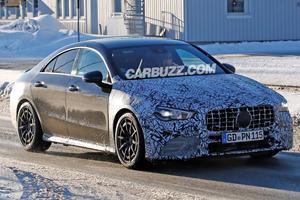 Mercedes-AMG CLA 45 Drops More Camo