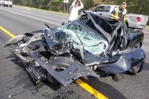 Driver Walks Away From Horrific Toyota MR2 Crash